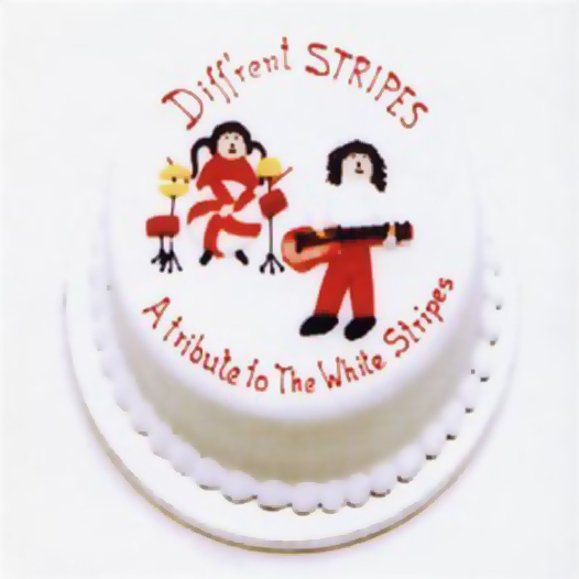 12 Com apenas três covers do White Stripes, o single Diff'rent stripes honra o dueto de Detroit