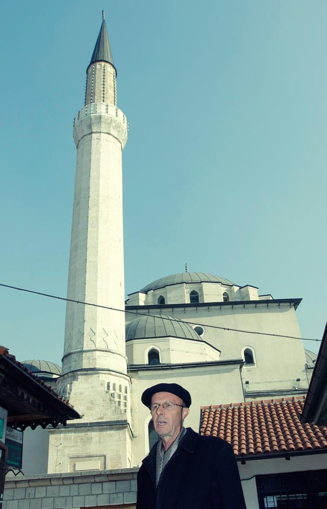 Vehbija, muezim da principal mesquita de Sarajevo