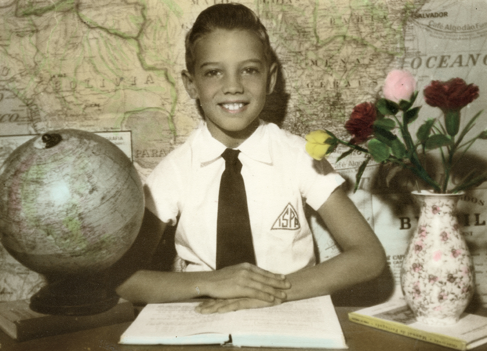 o estudante nota 7 no Rio de Janeiro, em 1959
