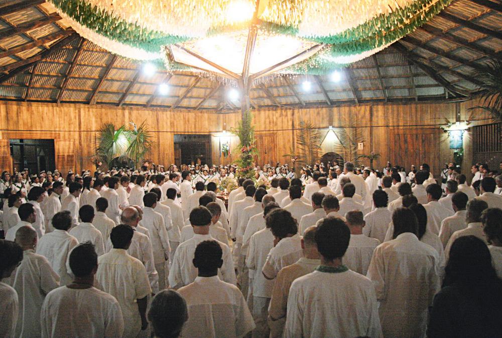 sessão de daime no Acre