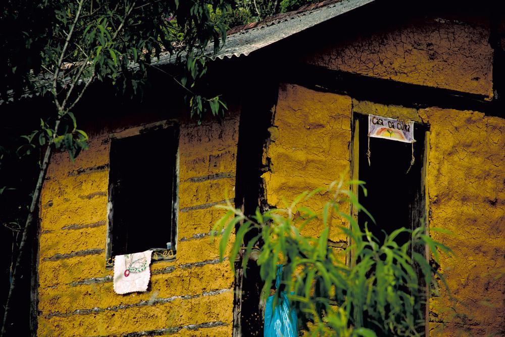 casa de cura, onde são atendidos os doentes