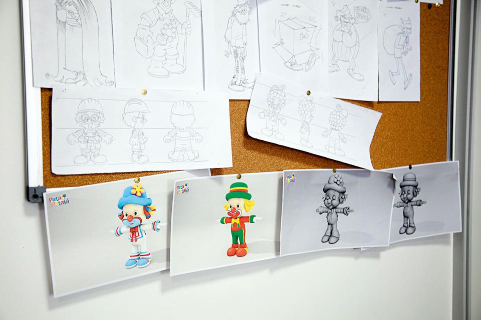 Os projetos de novos bonecos
