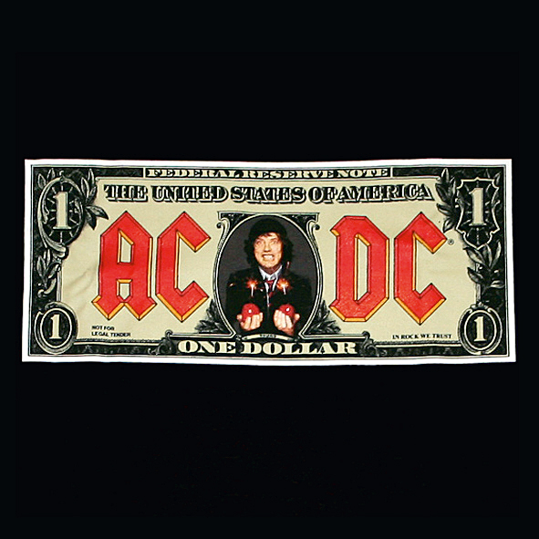 "12 Compacto raro do AC/DC com o hit ""Money Talks"" e ""That's the Way I Wanna Rock & Roll""."