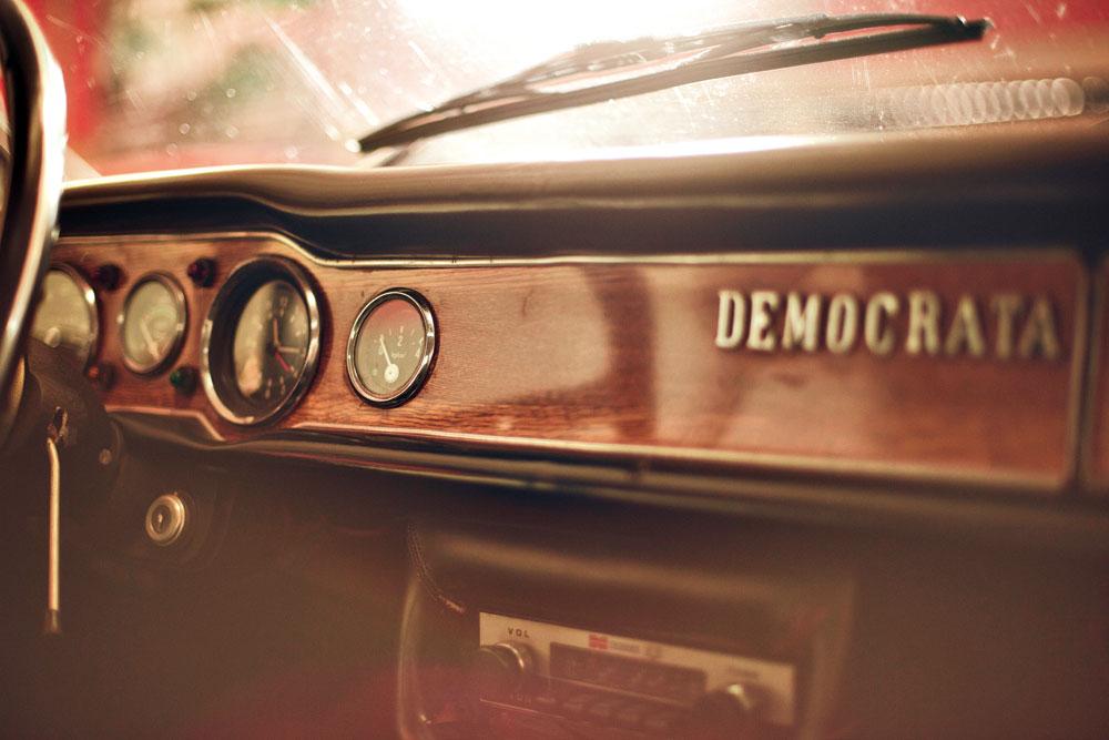 Detalhes do Democrata gaúcho, vivo em 2012