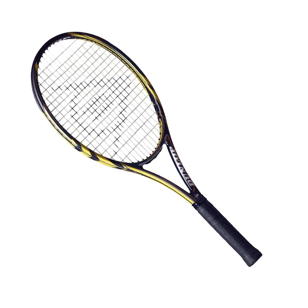 TÊNIS - A Dunlop tem uma raquete com encordoamento inspirado na adesividade das patas de lagartos, o que garante maior controle ao bater na bola. E a fibra de carbono com design semelhante ao de favos de mel traz maior absorção de impacto