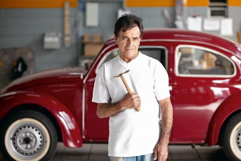 o dono da marca Martelinho de Ouro, Pedro Souza Santana: 'não criei o serviço,  mas lancei no mercado'