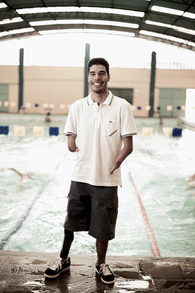 O nadador Daniel Dias