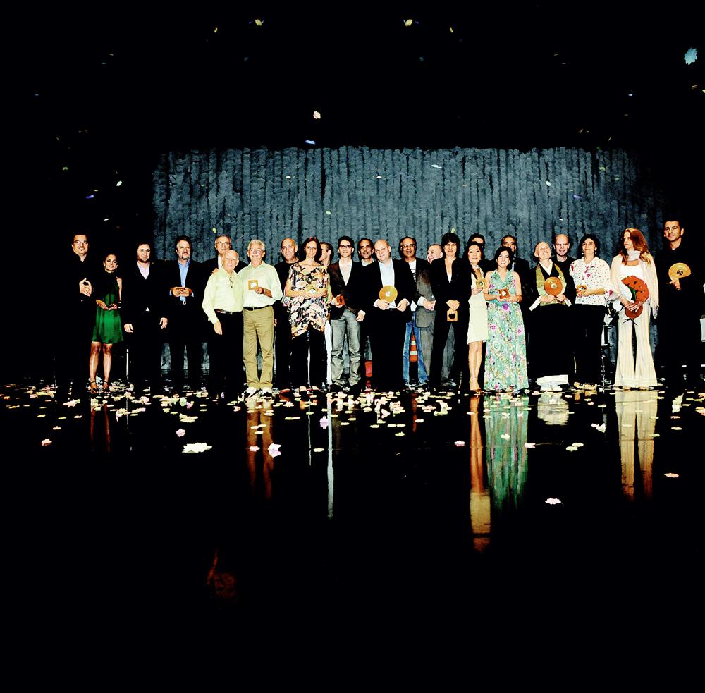 os homenageados de 2008