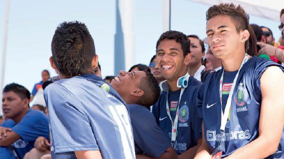 Yuri Ximenes, Douglas e Teteu, da seleção masculina: envolvendo quem precisava ser envolvido