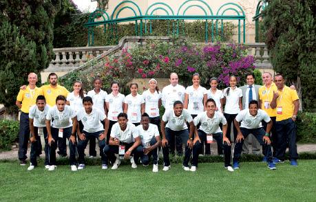 nossa delegação na embaixada brasileira no México