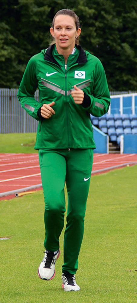 Fabiana Murer - Campeã mundial de salto com vara