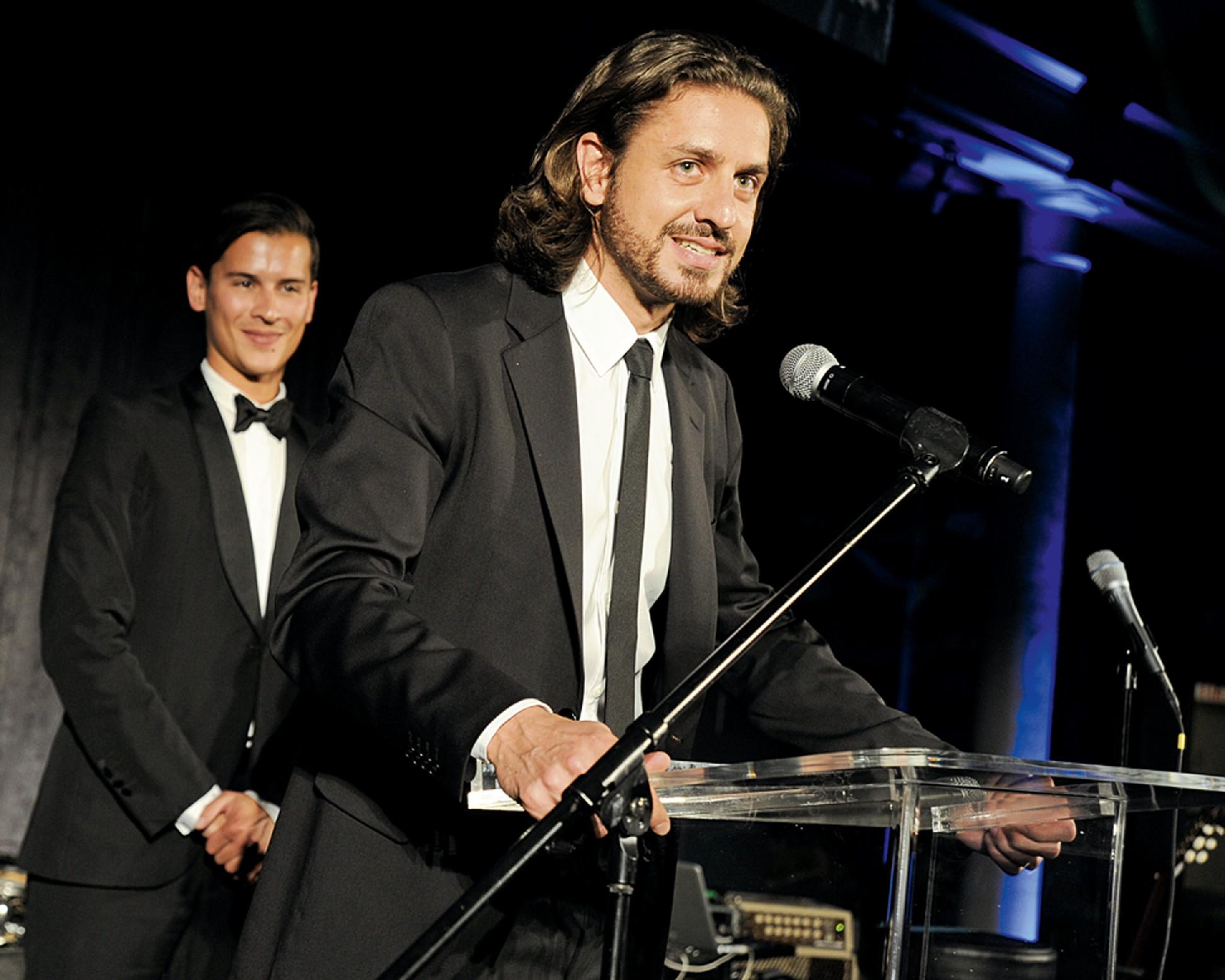 Lourenço durante jantar de gala do Brazil Foundation em Nova York, em setembro último