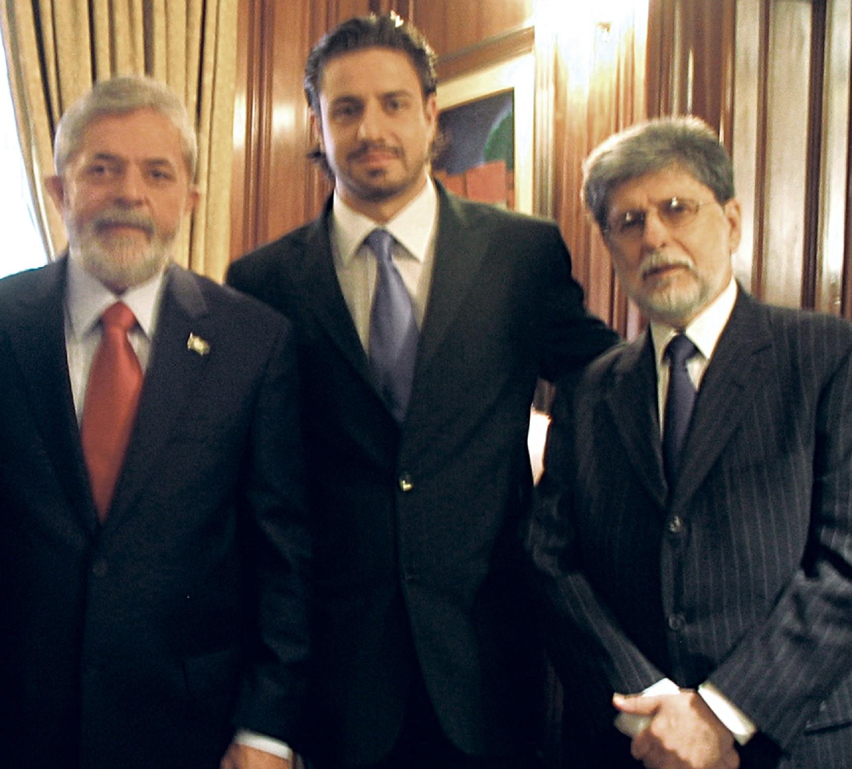 entre Lula e o então ministro Celso Amorim