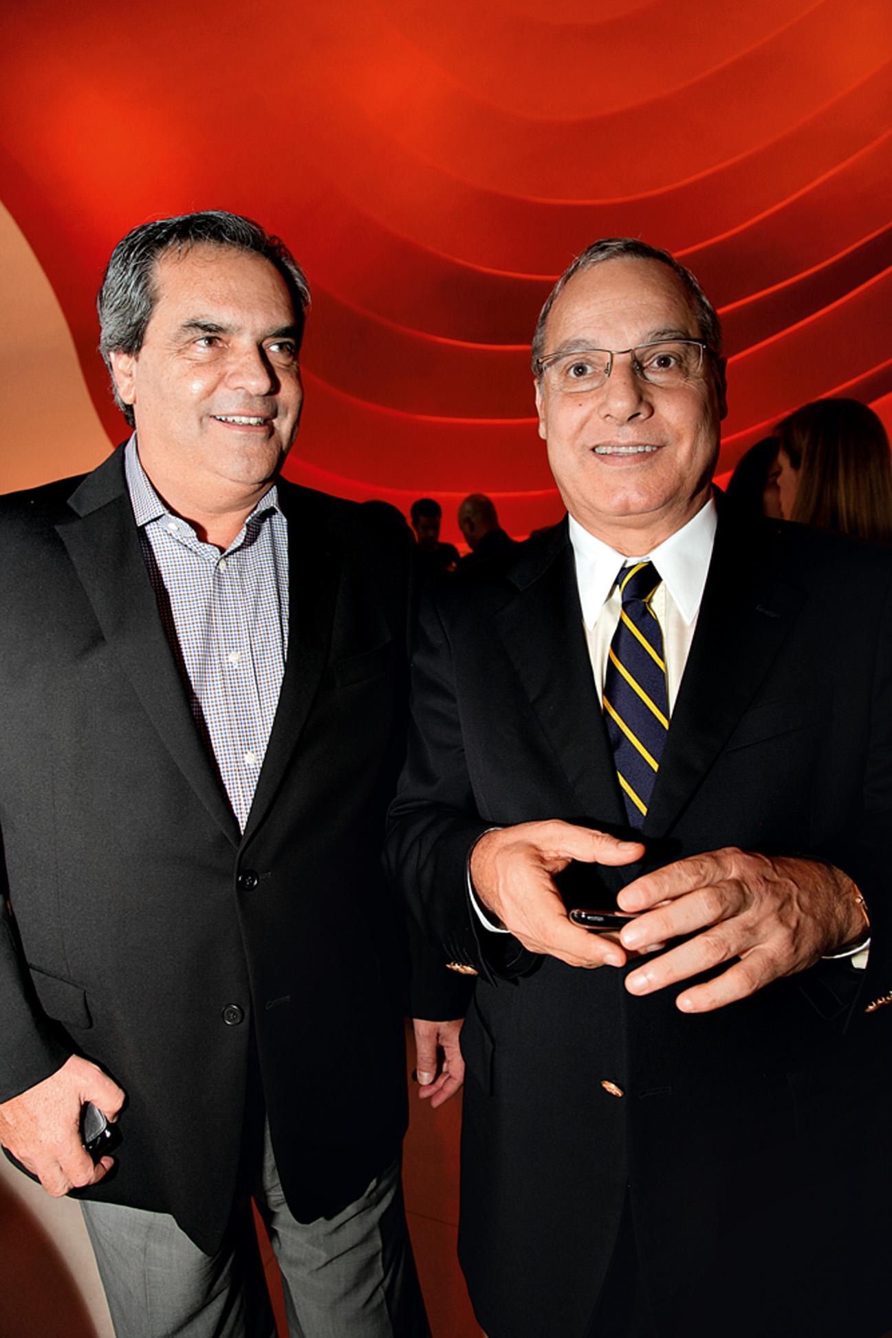 Carlos Nascimento e Álvaro Coelho da Fonseca