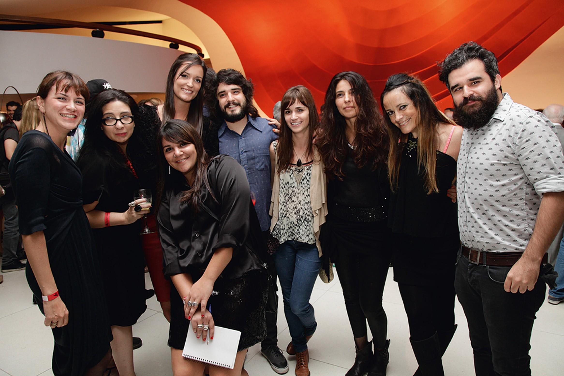 Anabelle Custódio, Eva Uviedo, Katia Lessa, Flavia Fraccaroli, Elohim Barros, Renata Mein, Renata Zincone e Adriana Verani