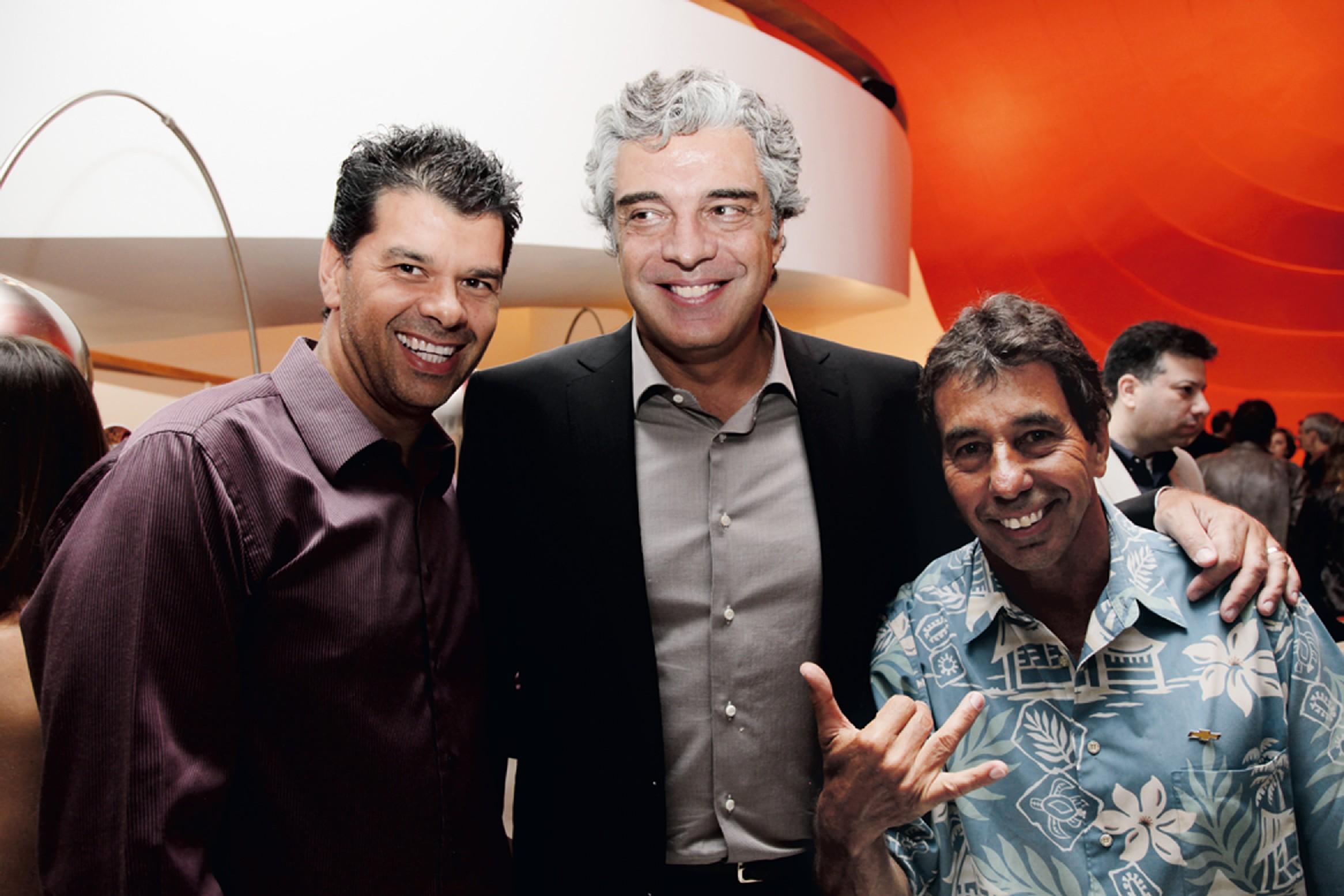 Adrian Kojin, Marcello Serpa e Rico de Souza