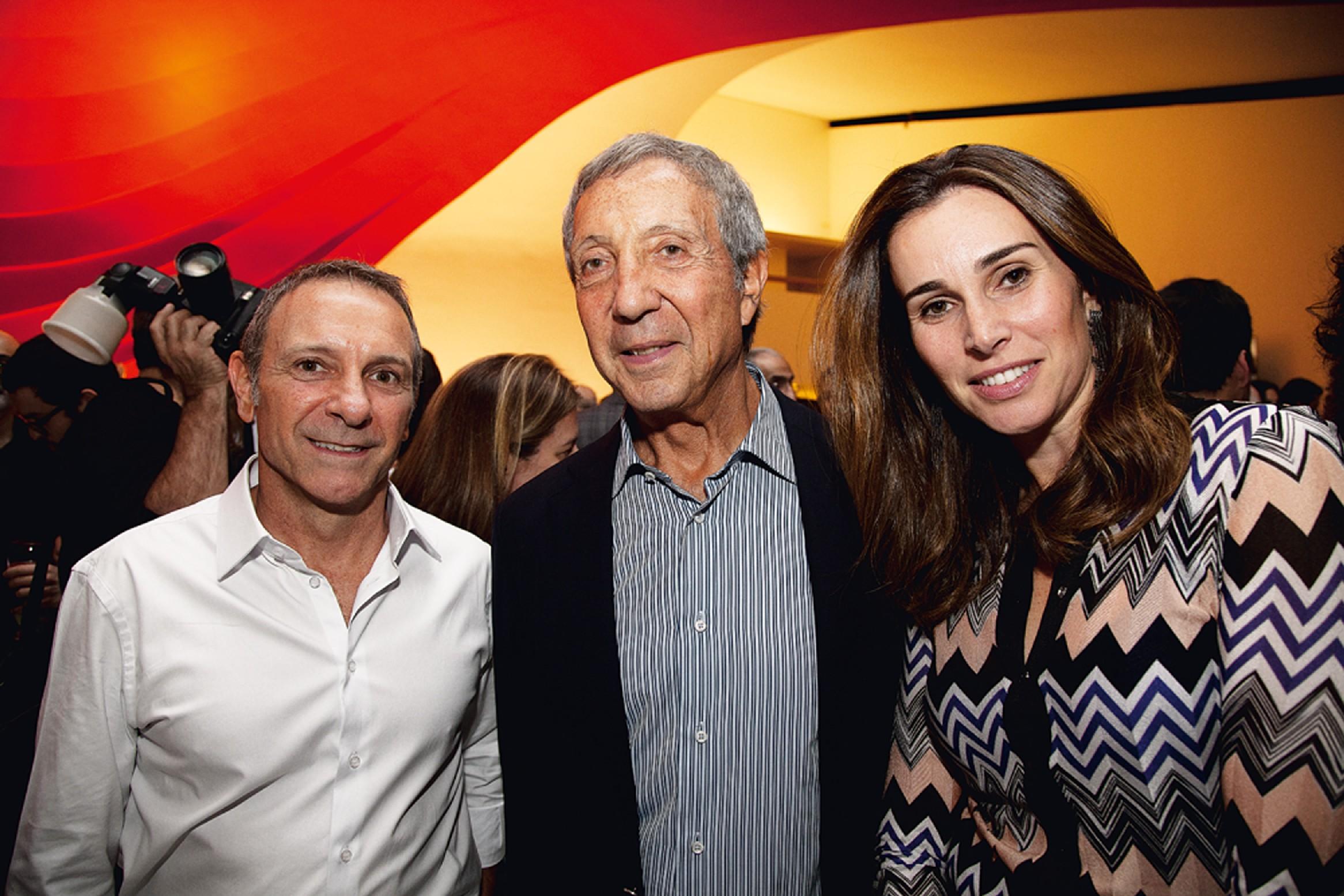 Carlos Sarli, Abílio e Geyze Diniz