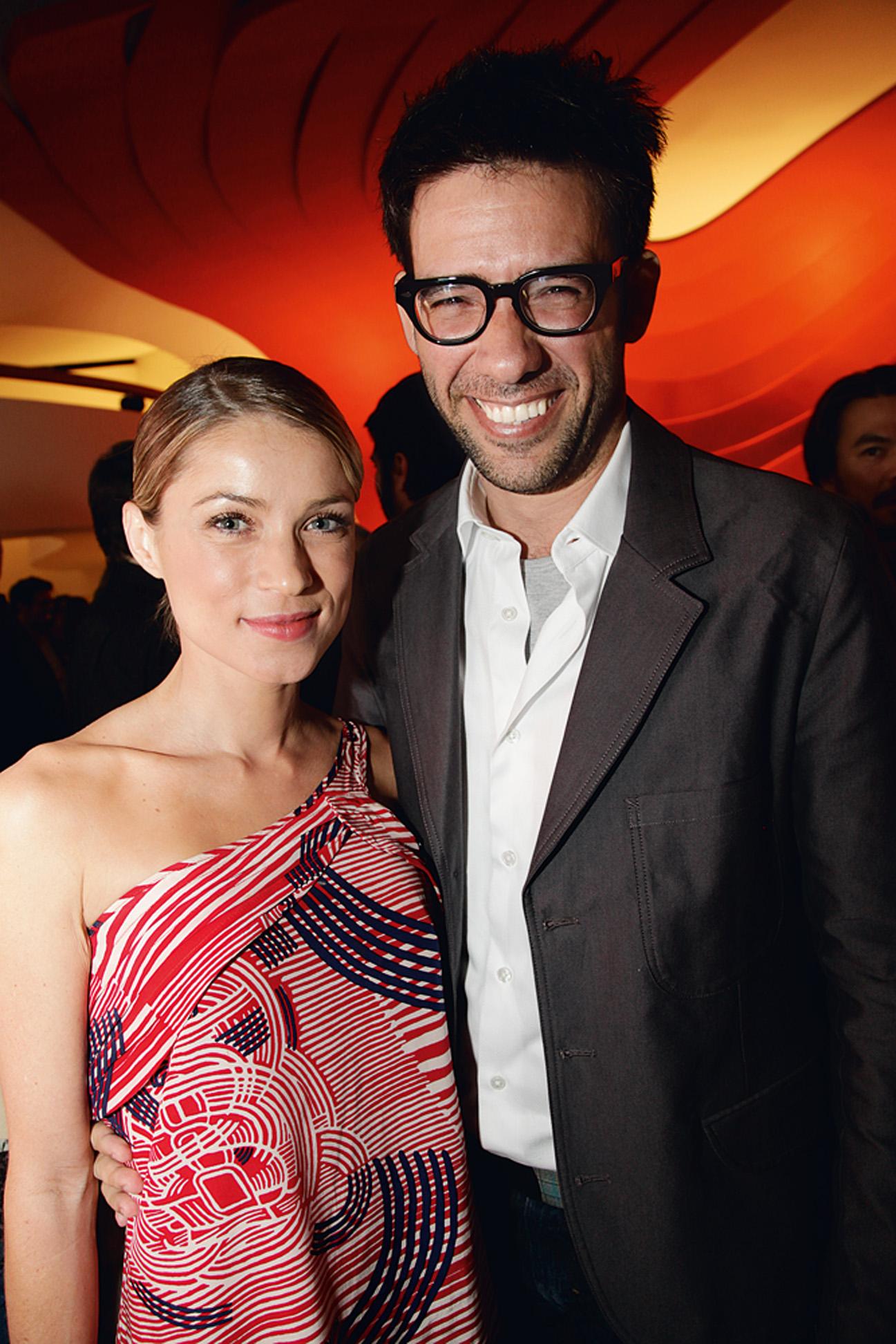 Regina Parra e Fernando Luna