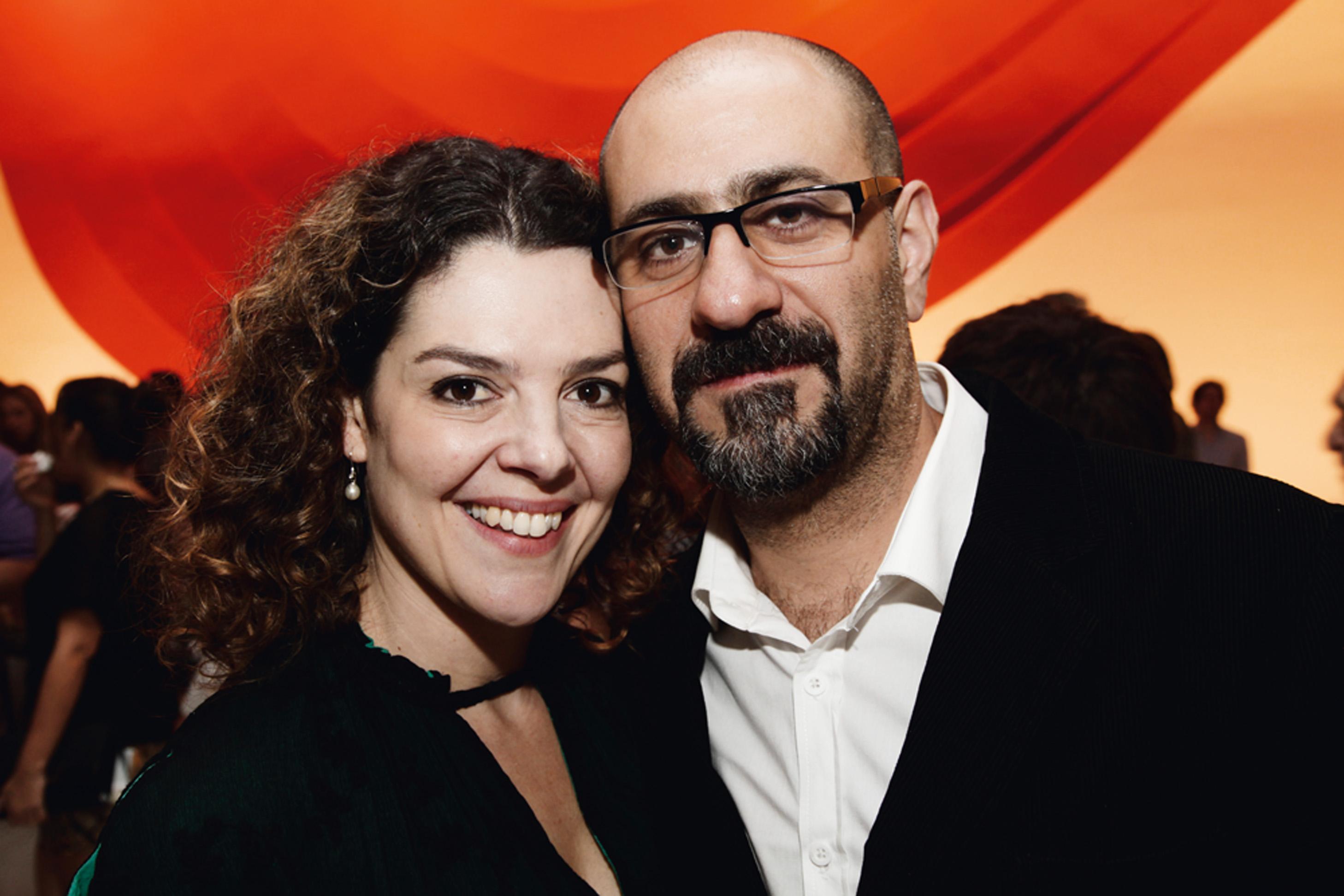 Maria Flor e Ricardo Calil