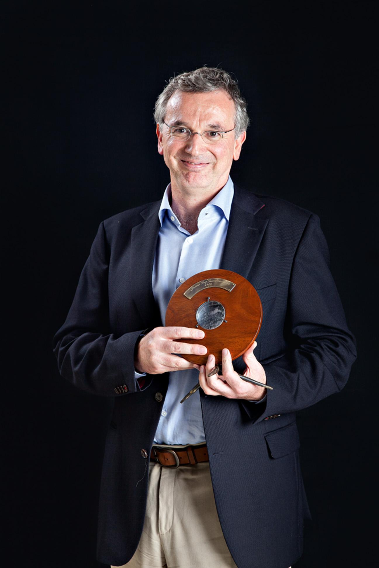 Roberto Waack - 'O melhor desse prêmio é a capacidade de divulgar as iniciativas. Esse processo de conscientização pelo qual lutamos só vai se dar na humanidade através de iniciativas como essa. O papel da comunicação na efetivação da transformação é central'