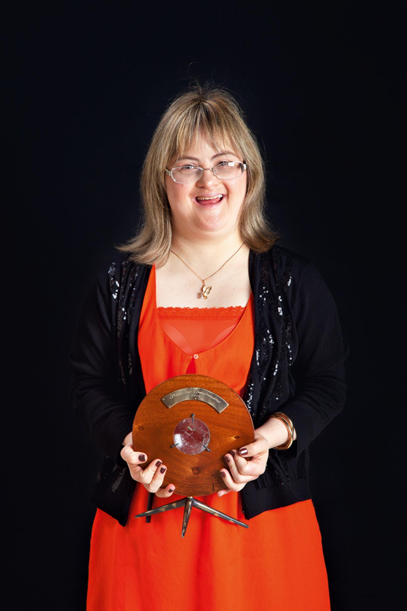 Ana Beatriz Pierre Paiva - 'O prêmio é de uma importância muito grande, não só para mim, mas para todos que escreveram comigo esse livro. Poder mostrar para a sociedade que nós podemos evoluir é a melhor coisa. Juntas, as pessoas têm o poder de mudar o mundo'
