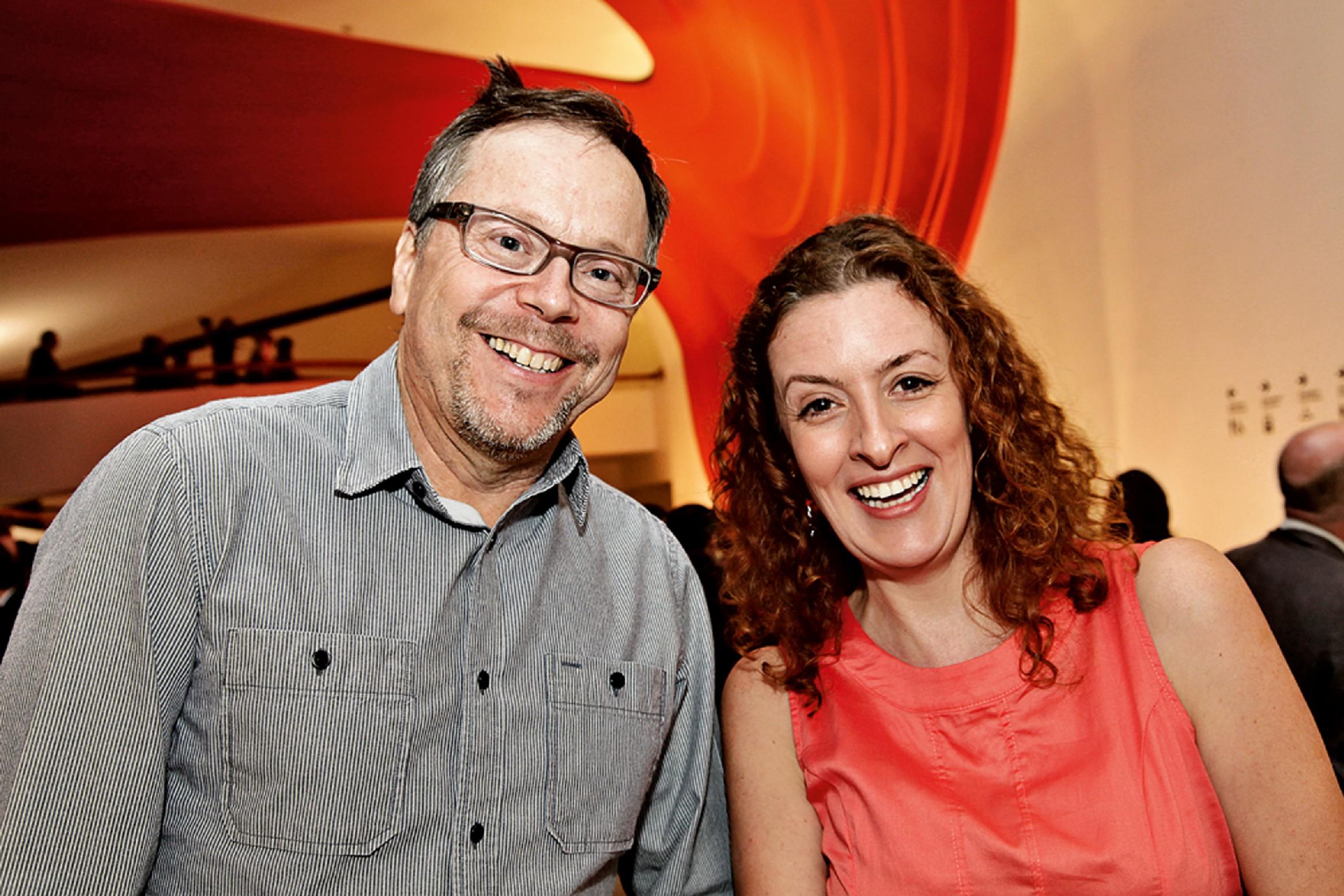 Fernando Meirelles e Christiane Cralcev