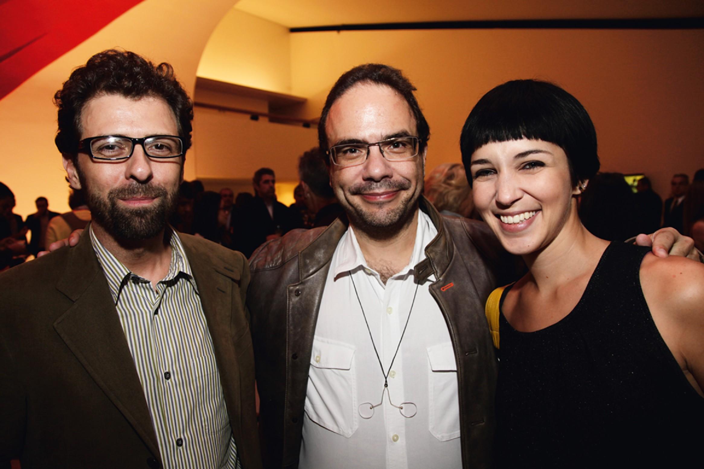 Marcello Dantas e Amanda Dafoe