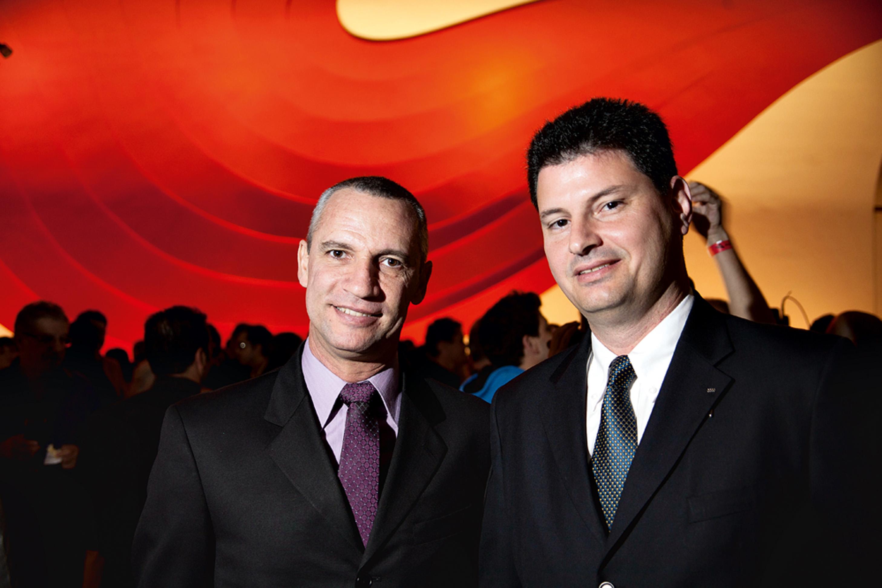 Carlãozinho Coachman e Leandro Radomile