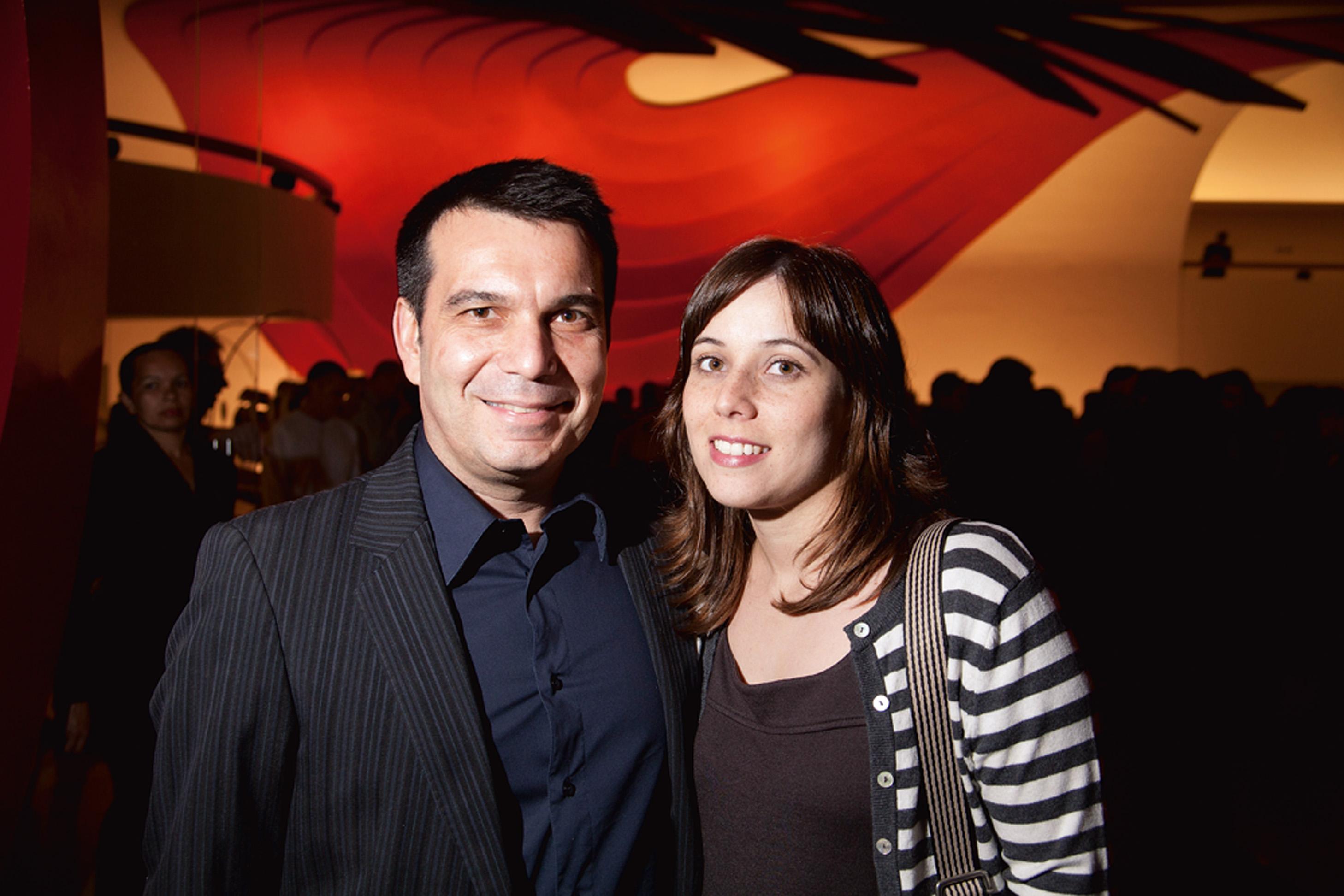 Paulo Camossa e Mariana Junqueira