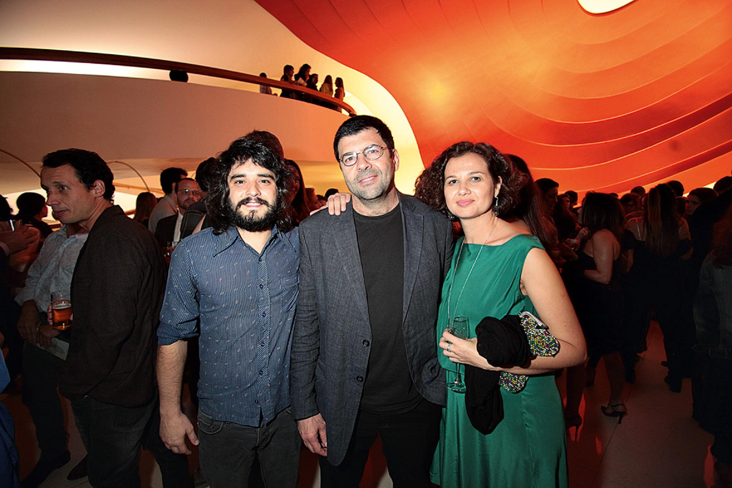 Elohim Barros, Fernando Costa Netto e Mercedes Tristão
