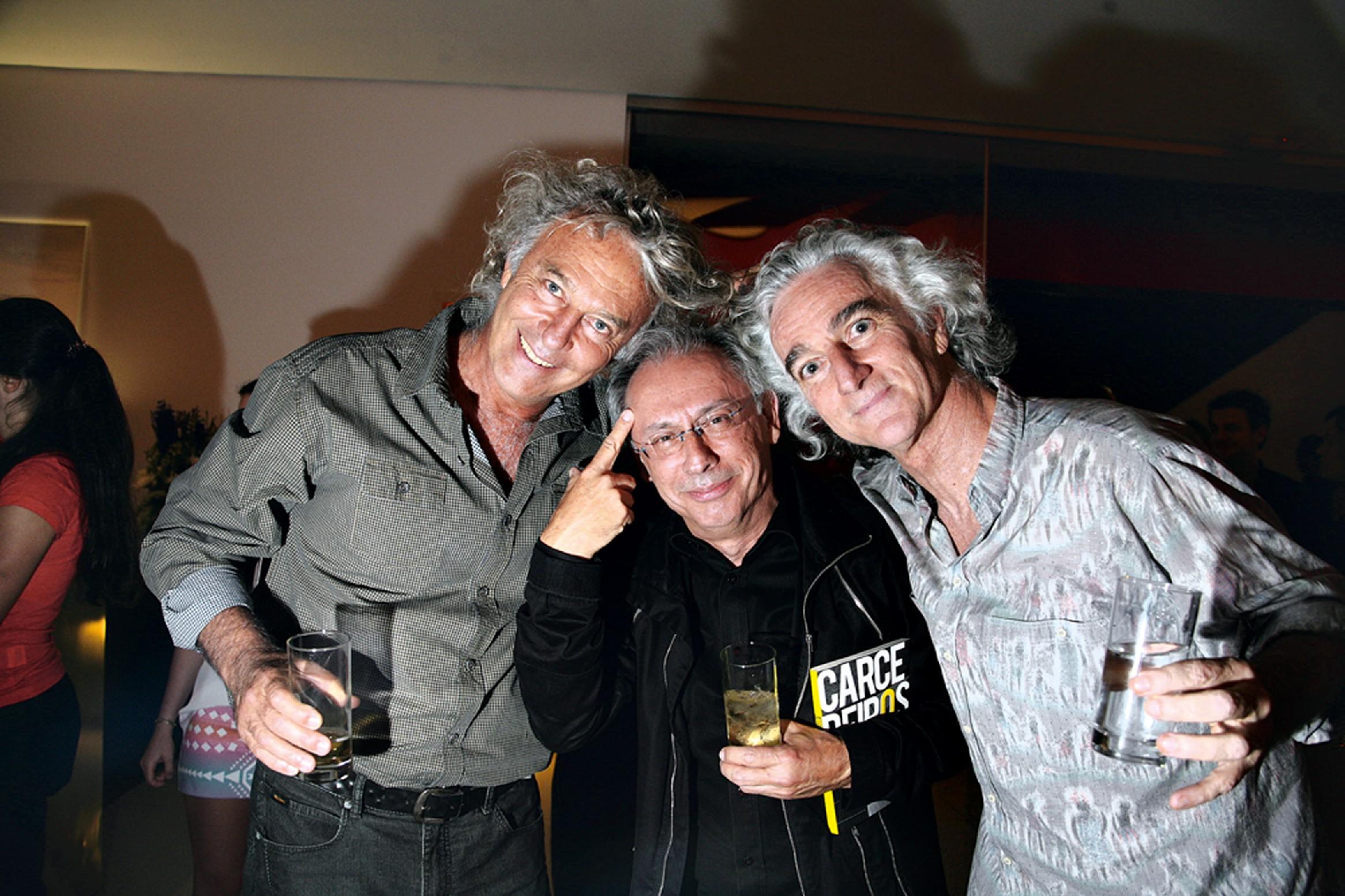 Carlos Motta, Ricardo Corte Real e Sidão Tenucci