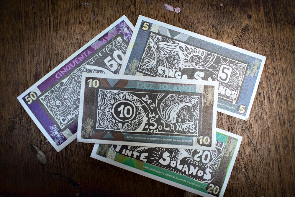 Notas de Solano: o dinheiro valida a troca de serviços entre artistas e fornecedores para viabilizar shows, CDs e lançamentos