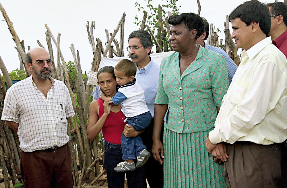 Graziano na viagem à Somália em 2012