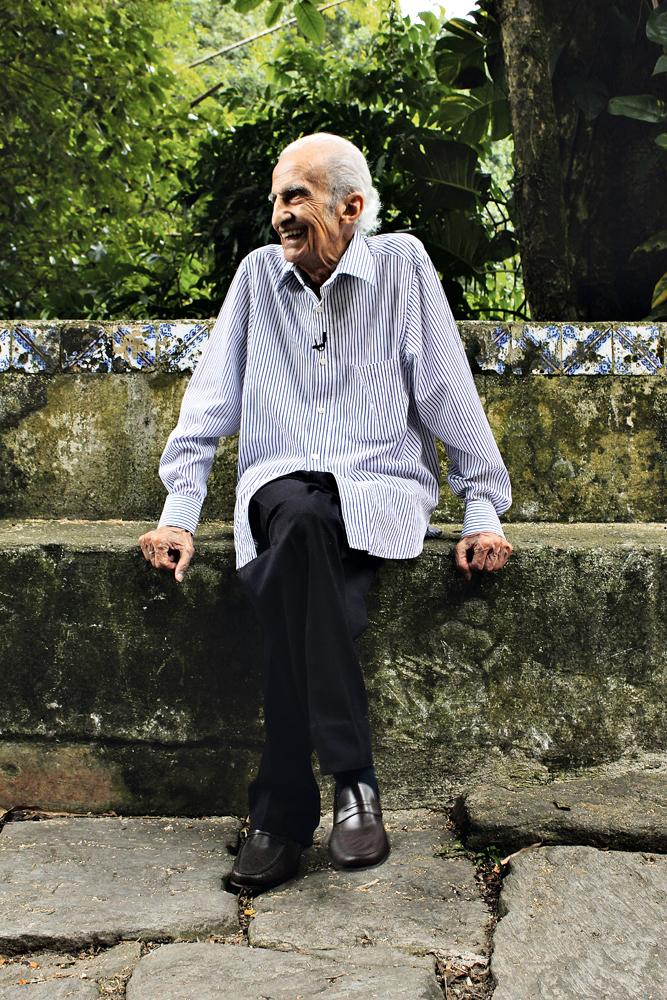 Aos 89 anos, Loredo ainda é pura disposição
