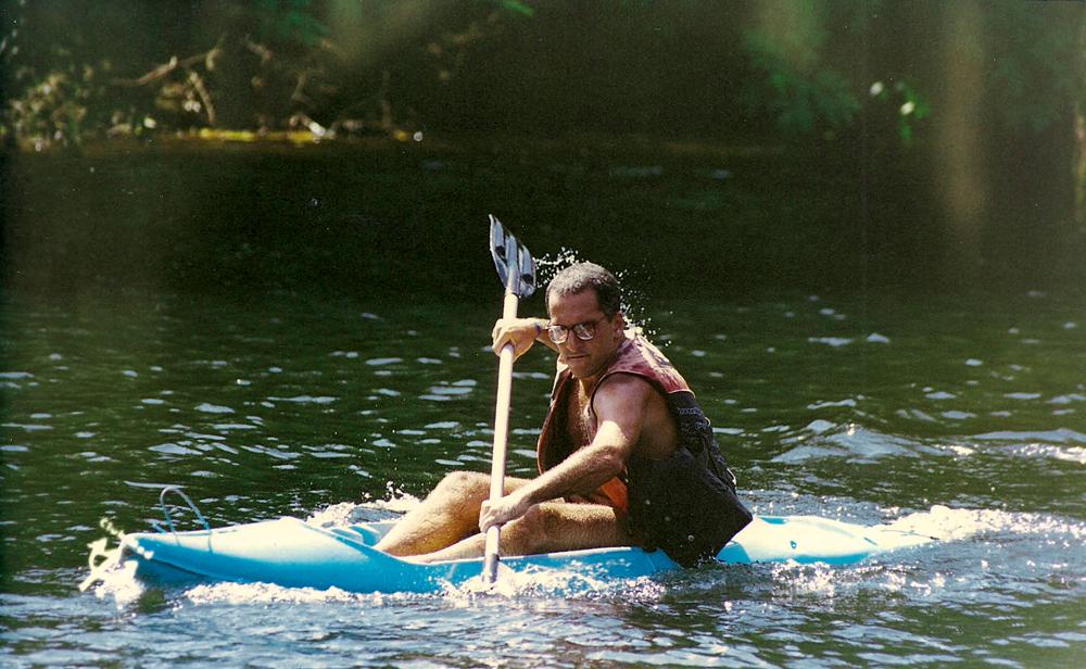 De caiaque em Angra dos Reis (1996)