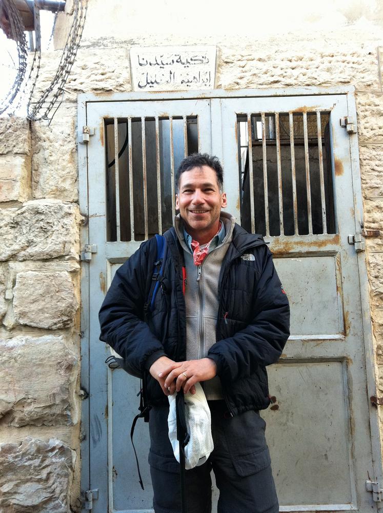 Em Beni Naim, perto de Hebron, na Cisjordânia, que é parte do Caminho de Abraão.