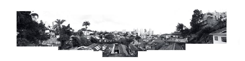 Vista panorâmica da favela