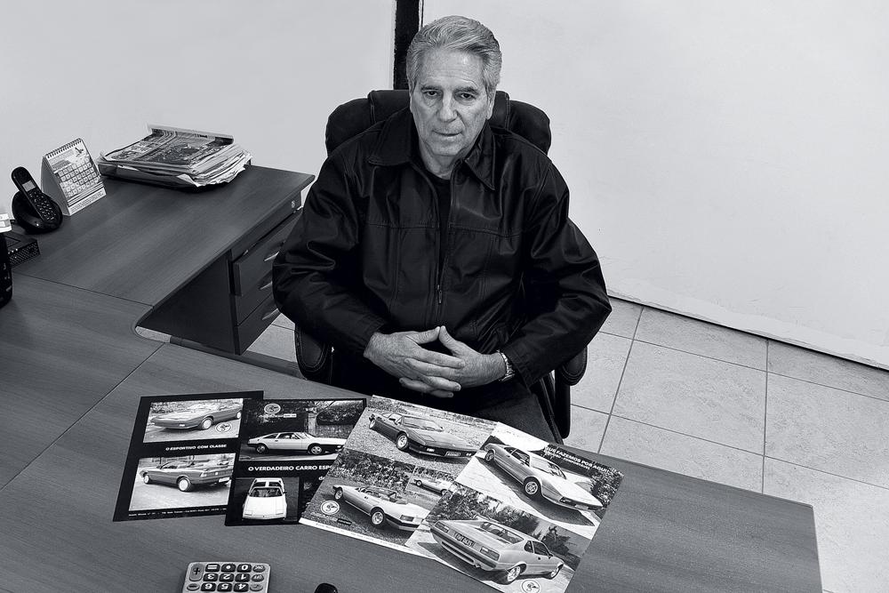 Milton Adamo, designer e criador da marca