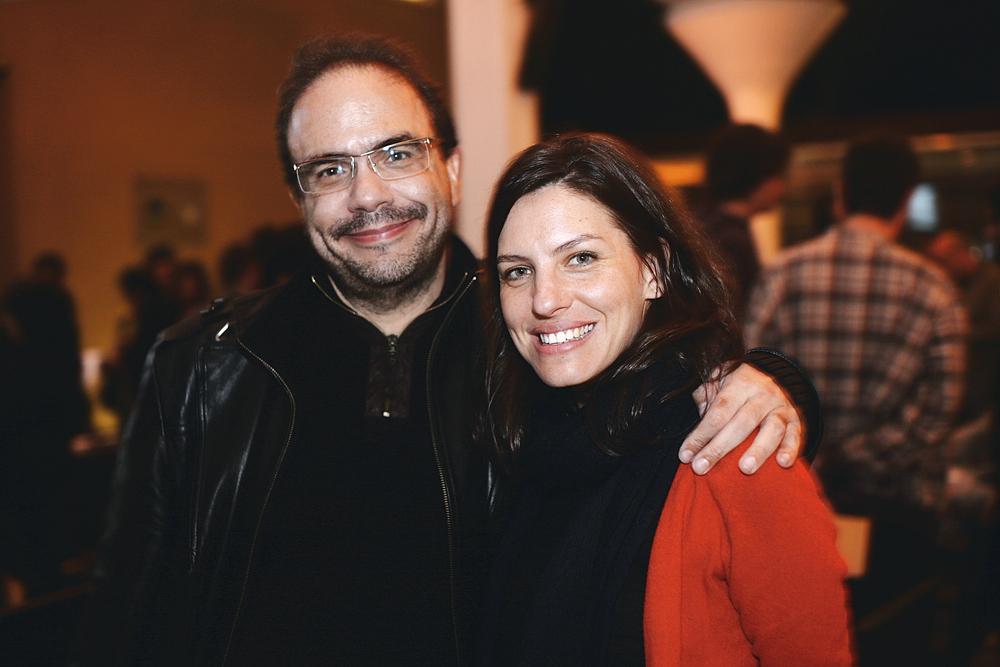 Marcelo Dantas e Paula Dib