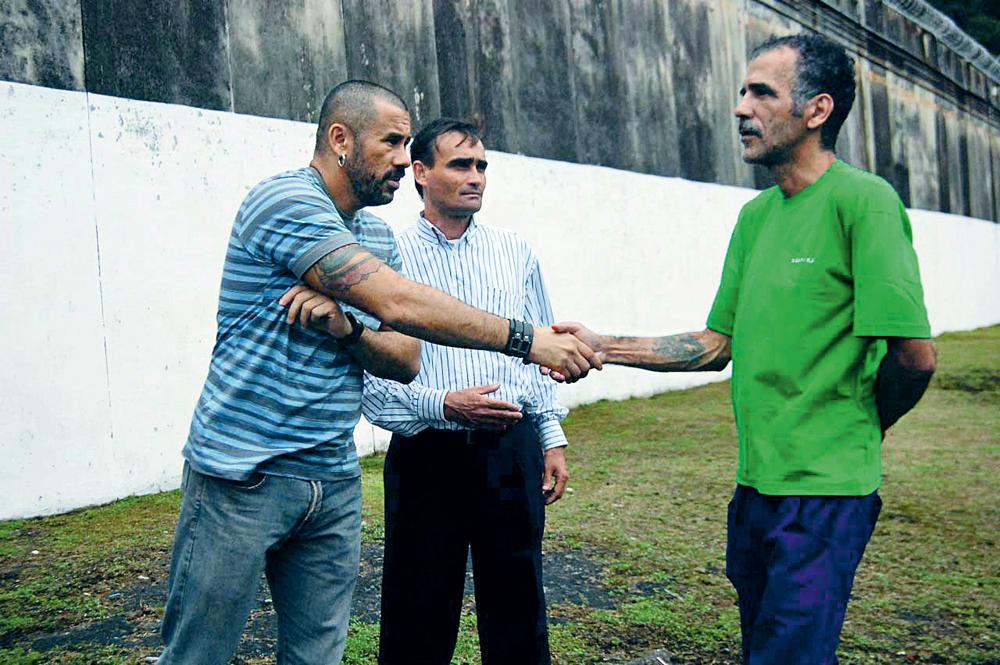 Com o pastor Rogério Menezes