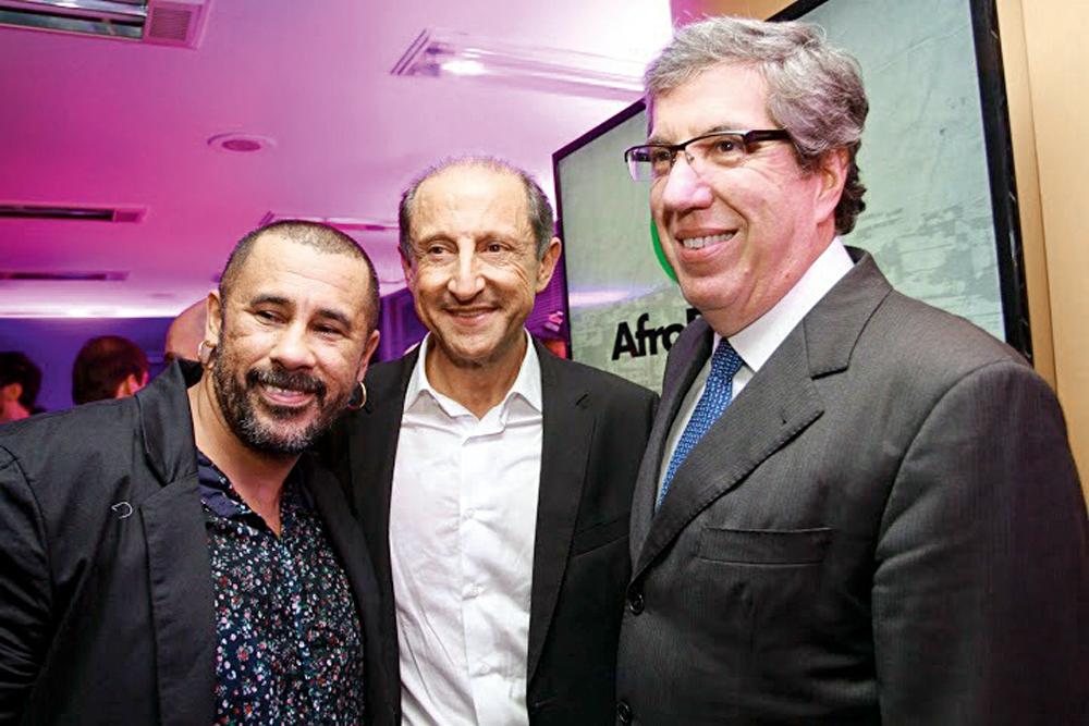 Com Paulo Skaf e Fabio Barbosa