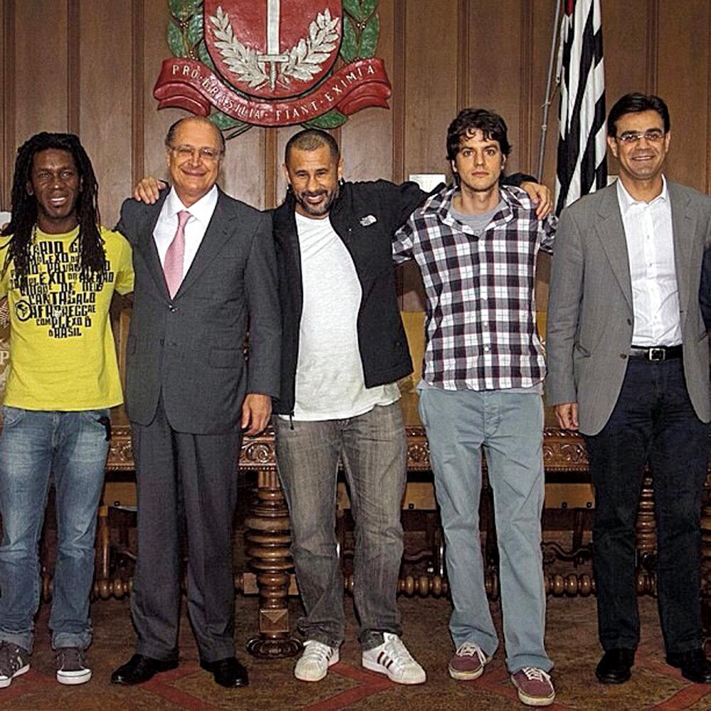 Com Geraldo Alckmin