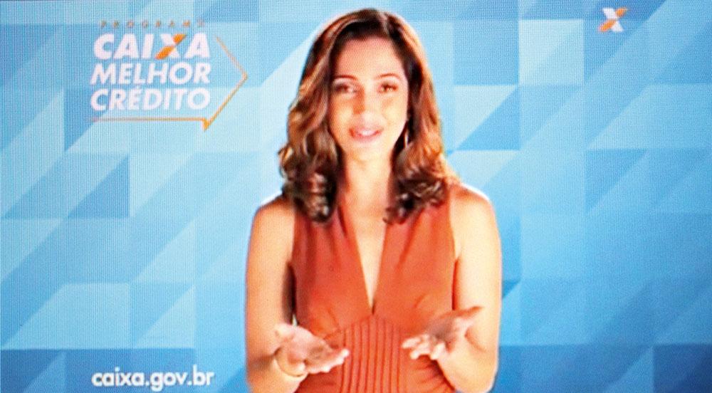 Camila Pitanga, que tem imagem de confiável, já anunciou Rexona e Caixa