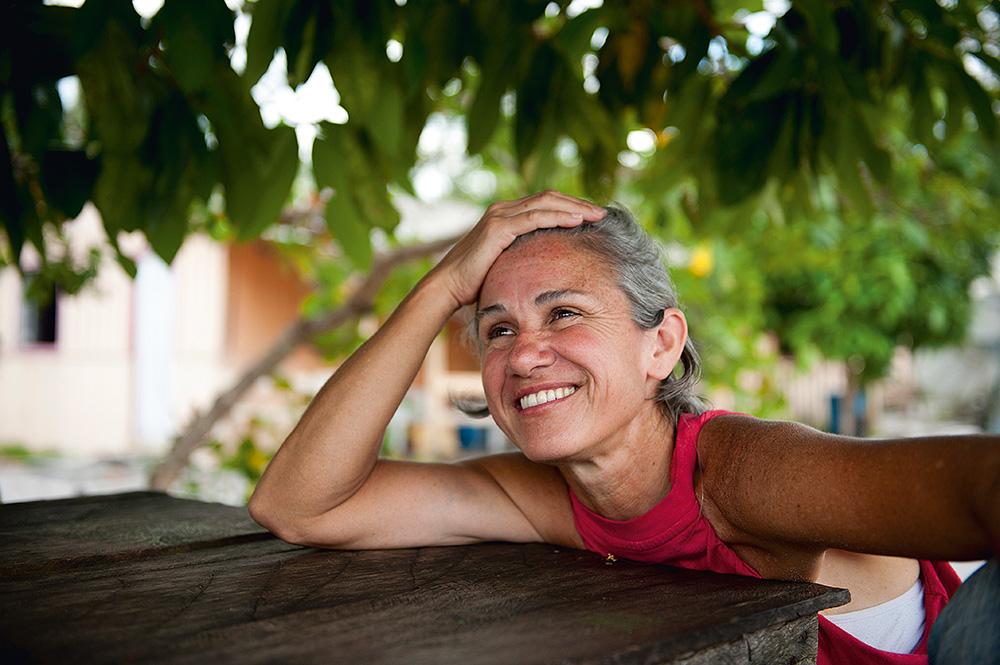 Márcia Lot, treinadora que se encantou com a índole indígena