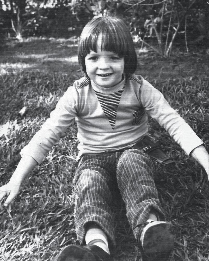 Marcelo com 4 anos no Baixo Gávea