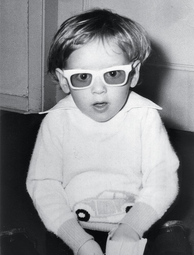 Jacques aos três anos em São Paulo