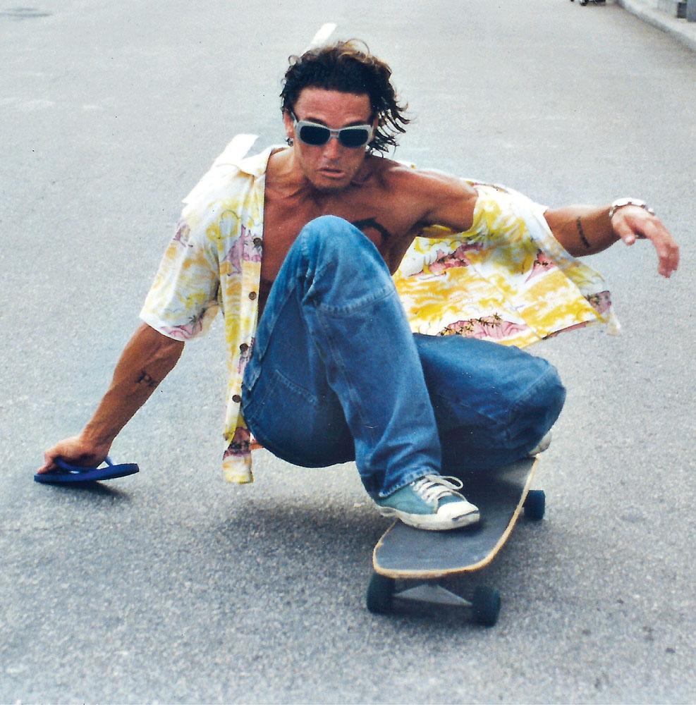 Surfando no asfalto de Ipanema