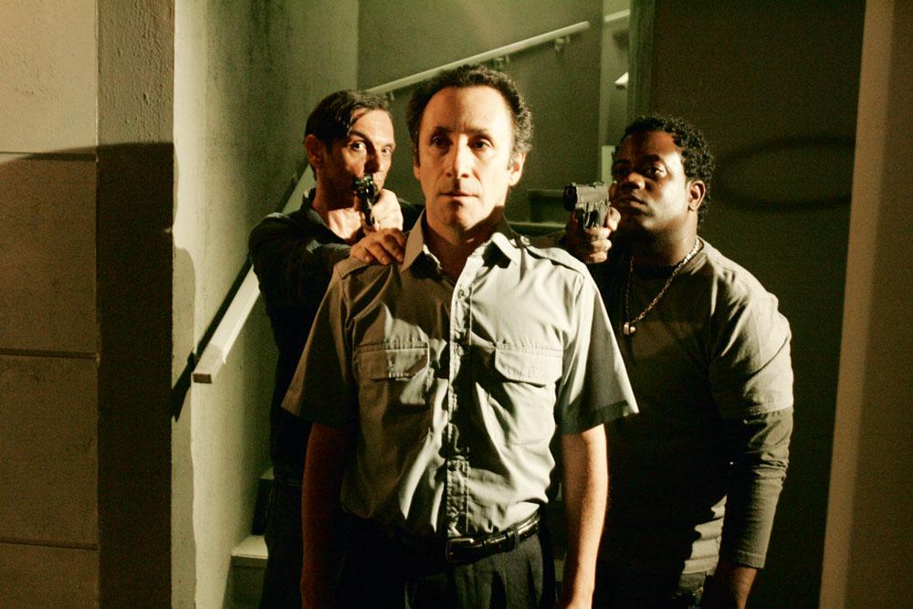 Paulo em sua versão ator: no seriado Força-tarefa (2009)