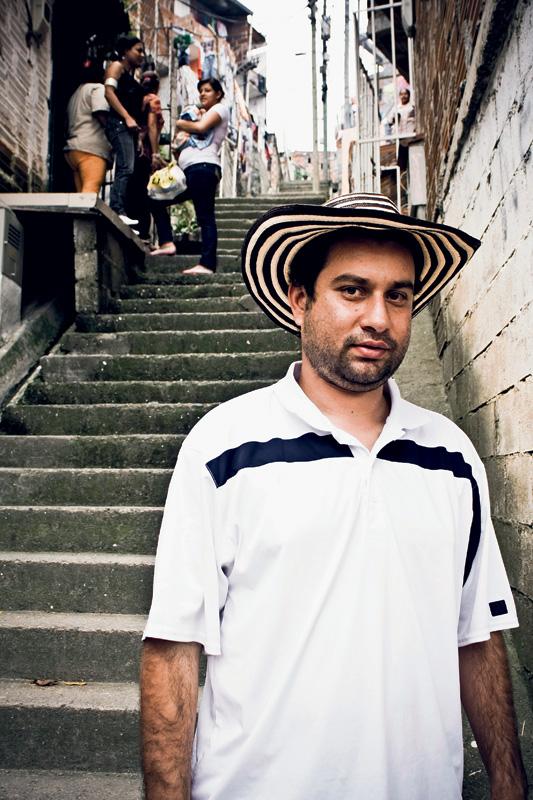 Hector Jimenez, guia do tour El Místico Pablo Escobar
