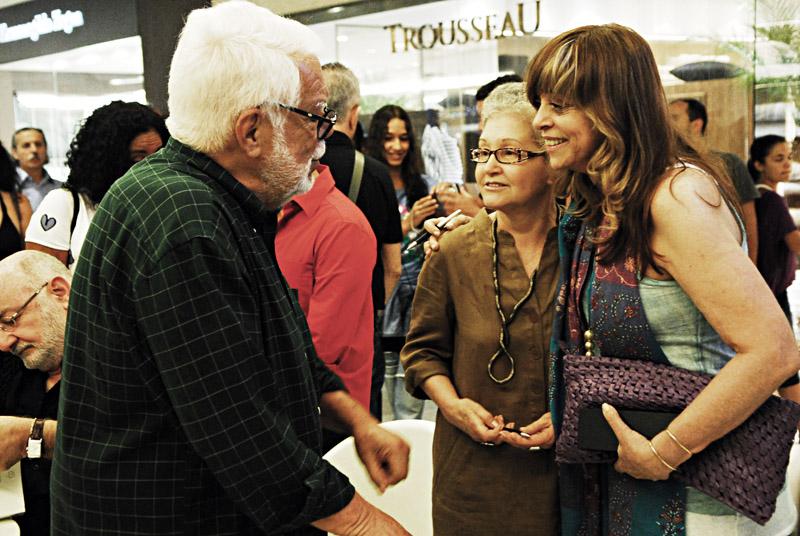 Com Manoel Carlos e Maria Adelaide Amaral, autores da Globo